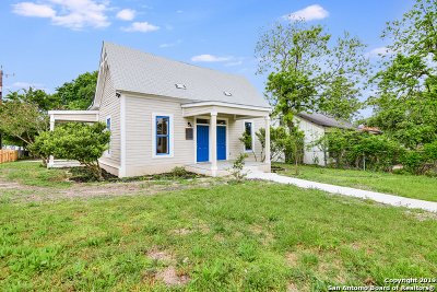 Single Family Home For Sale: 630 Nolan St