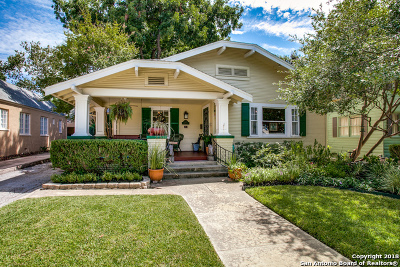 San Antonio Single Family Home Active Option: 136 E Rosewood Ave