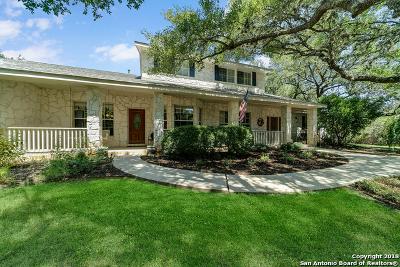 San Antonio Single Family Home Price Change: 15200 Cadillac Dr