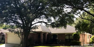 Schertz Single Family Home For Sale: 3717 Hunters Glen
