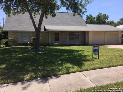 San Antonio Single Family Home Back on Market: 114 Dartmoor St