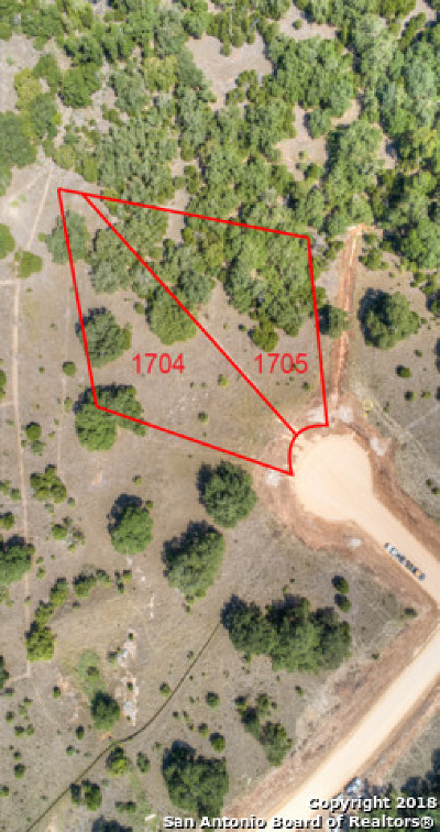 New Braunfels Residential Lots & Land Back on Market: (Lot 1705) Brushy Curve