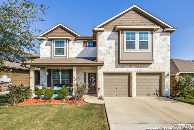 Bexar County, Comal County, Guadalupe County Single Family Home For Sale: 321 Brook Shadow