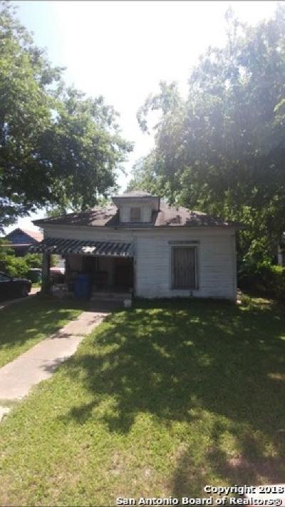 San Antonio Single Family Home Back on Market: 126 E Boyer St