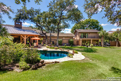 San Antonio Single Family Home Price Change: 3 Vineyard Dr
