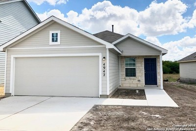 Converse Single Family Home Price Change: 4942 Everett Loop