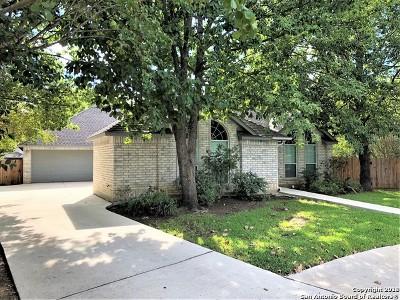 San Antonio Single Family Home Active Option: 13815 Ridge Farm