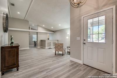 San Antonio TX Single Family Home Back on Market: $215,000