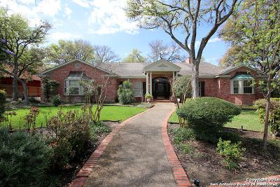 San Antonio Single Family Home Price Change: 506 Bluffwood Dr