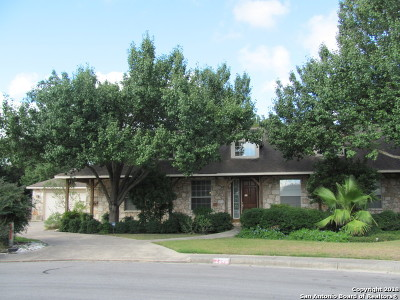 New Braunfels Single Family Home Active Option: 2744 Diamond Trl