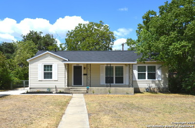San Antonio Single Family Home Back on Market: 2345 W Mulberry Ave
