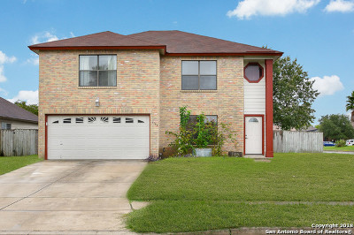 New Braunfels Single Family Home For Sale: 1106 Stone Arch