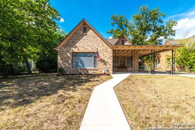 Bexar County, Comal County, Guadalupe County Single Family Home Price Change: 427 Donaldson Ave