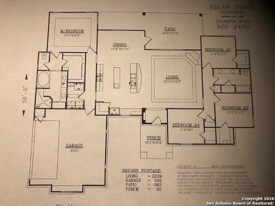Wilson County Single Family Home For Sale: 135 Cibolo Ridge Dr.