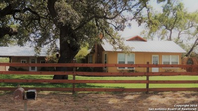 Atascosa County Single Family Home For Sale: 3426 Coble Rd