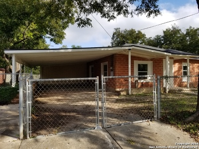 Single Family Home For Sale: 714 Hallie Ave