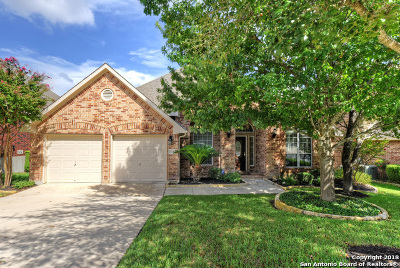 San Antonio TX Single Family Home For Sale: $349,900