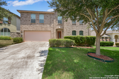San Antonio Single Family Home For Sale: 19530 Highgrove Ln
