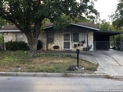 San Antonio Single Family Home Back on Market: 219 NW 39th St