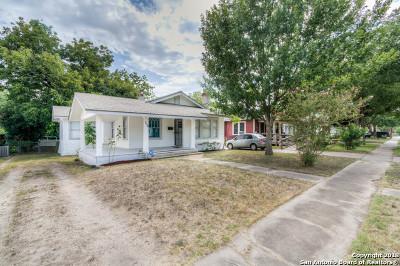 San Antonio Single Family Home Back on Market: 716 Kayton Ave