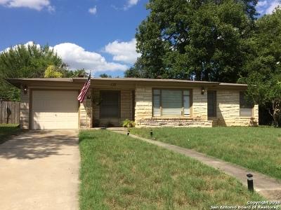 San Antonio Single Family Home Back on Market: 115 Bella Vista Dr