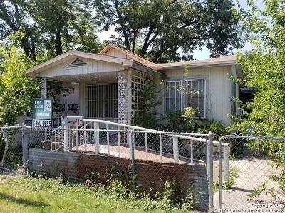 San Antonio Single Family Home Price Change: 712 Torreon St