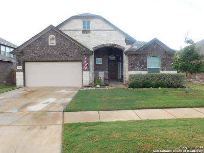 Cibolo Single Family Home Active Option: 408 Bison Ln