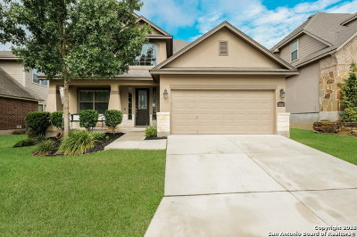 San Antonio Single Family Home Back on Market: 27027 Trinity Bend