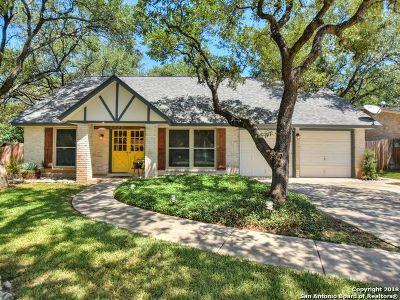 San Antonio TX Single Family Home Back on Market: $279,000