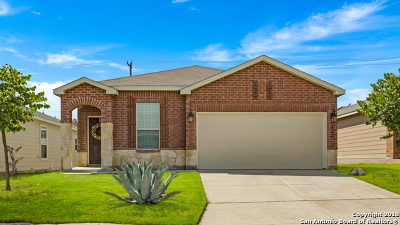 San Antonio Single Family Home Price Change: 3842 Bent Grass