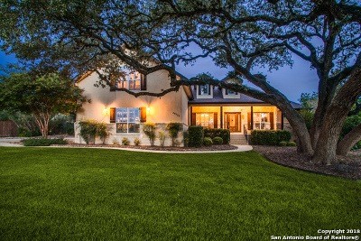 Comal County Single Family Home Price Change: 20522 Cedar Cavern