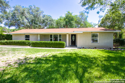 Helotes Single Family Home Price Change: 13402 Circle A Trail