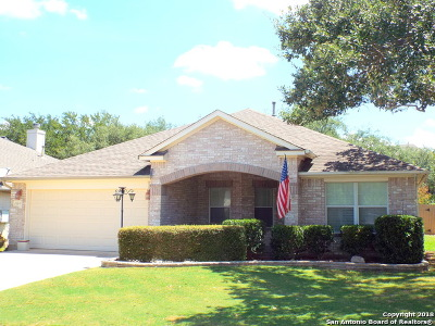 San Antonio Single Family Home For Sale: 23810 Fairway Canyon