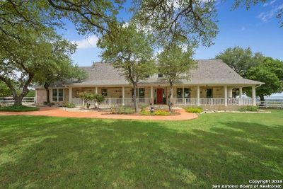 Kerrville Single Family Home Active Option: 1275 Pass Creek Rd