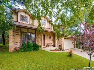 Helotes Single Family Home Price Change: 17319 Antlers Cove