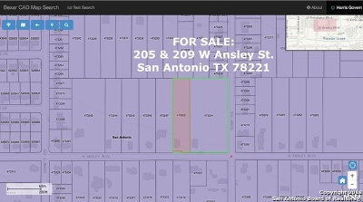 San Antonio Residential Lots & Land Back on Market: 205 W Ansley St