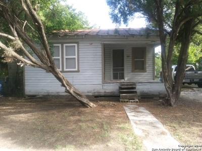 San Antonio Single Family Home New: 1127 Division Ave