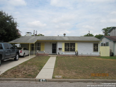 Single Family Home Price Change: 471 Clutter Ave
