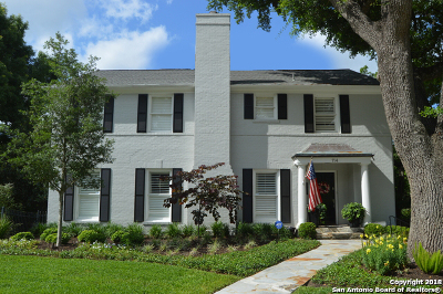 San Antonio Single Family Home Back on Market: 114 Downing Dr