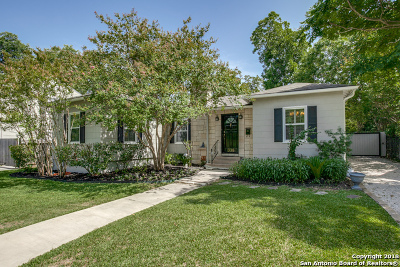 Terrell Hills Single Family Home For Sale: 338 Garraty Rd