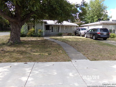 San Antonio Single Family Home New: 202 Dorris St