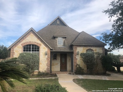 San Antonio Single Family Home For Sale: 110 Roan Trace