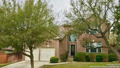 San Antonio Single Family Home New: 18611 Rogers Lk