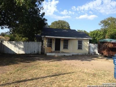San Antonio Single Family Home Active Option: 503 Rice Rd