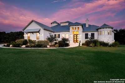 New Braunfels Single Family Home For Sale: 323 Lookout Ridge