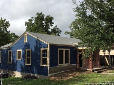 San Antonio Single Family Home Back on Market: 810 Halliday Ave