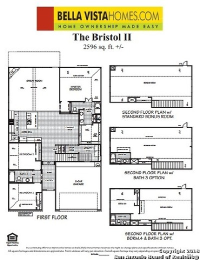 New Braunfels Single Family Home New: 3620 Blue Cloud Drive