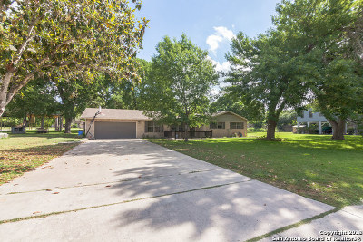 Seguin Single Family Home New: 157 Lakeside Dr