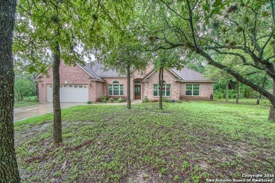 Helotes Single Family Home New: 15364 Flying Circle