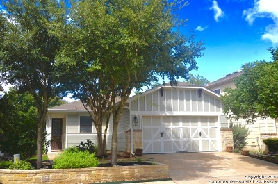 Boerne Single Family Home New: 136 Dusty Corral
